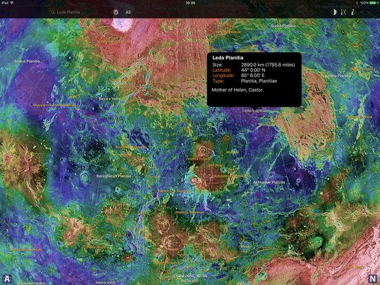 Venus Atlas iPad Screenshot 4