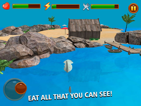 Wild Crazy Shark Simulator 3D Full Screenshots