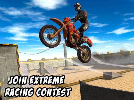Crazy Bike Stunt Racing 3D Full screenshot 5