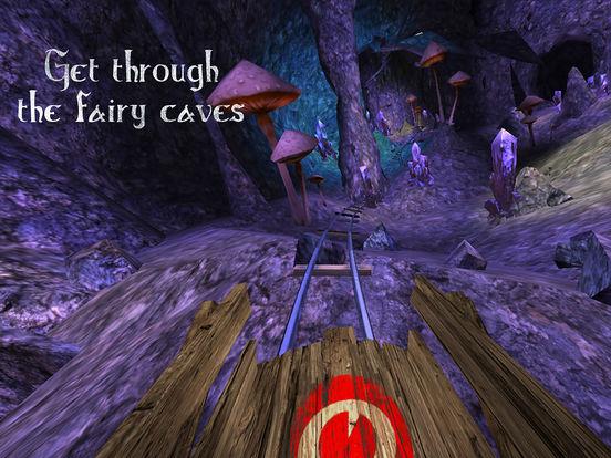 VR Roller Coaster - CaveDepthsscreeshot 1