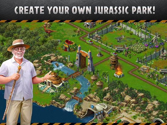 Screenshots of Jurassic Park™ Builder for iPad