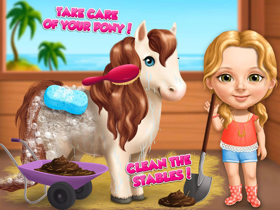Игра Sweet Baby Girl Summer Fun 2