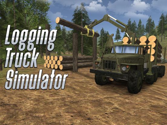 Logging Truck Simulator 3D на iPad