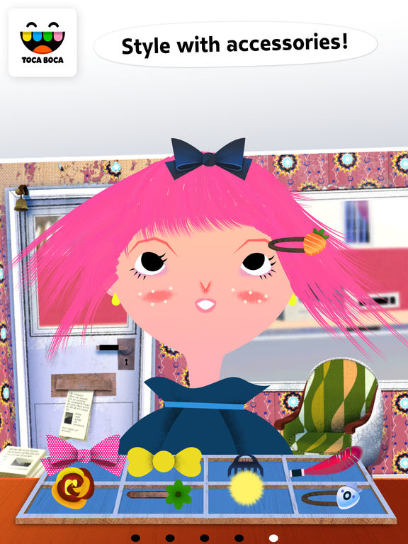 Toca Hair Salon Screenshots