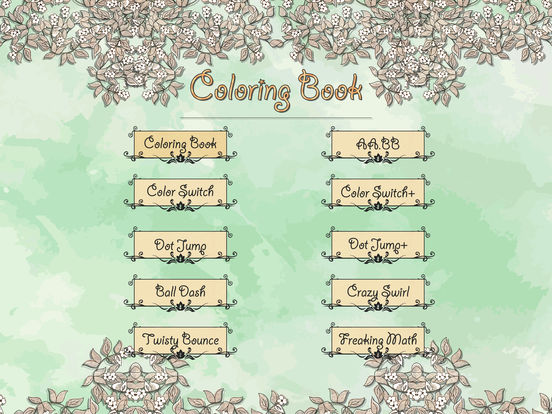 Secret Coloring Book - Free Anxiety Stress Relief & Color Therapy Pages for Adultscreeshot 4