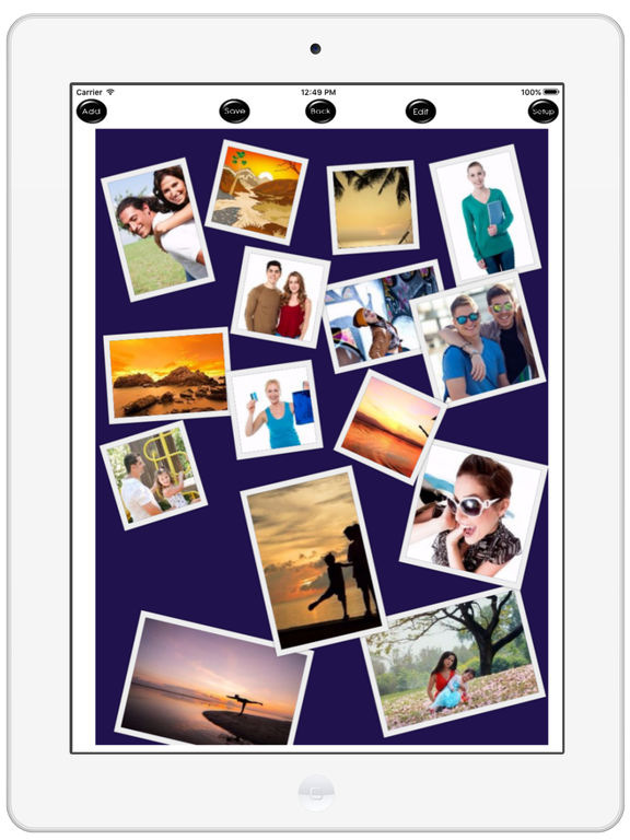 PicZone - Photo Editor, Collage & Stickers Screenshots