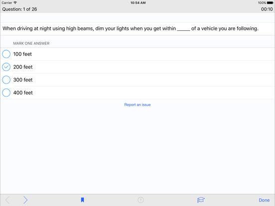 DMV Test Prep - Massachusetts iPad Screenshot 3