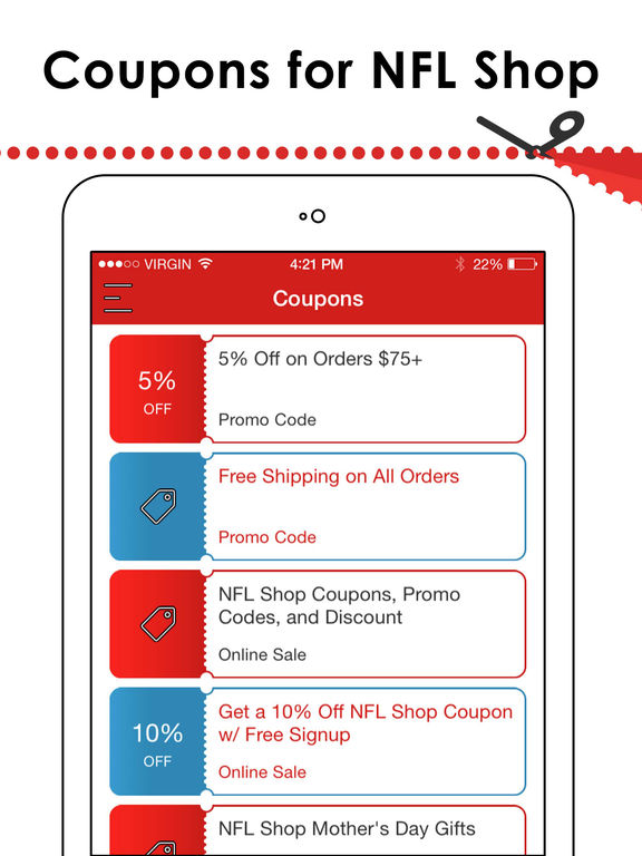 Where to Get a NFL Shop Promo Code