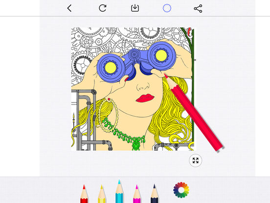 Secret Coloring Book - Free Anxiety Stress Relief & Color Therapy Pages for Adultscreeshot 1