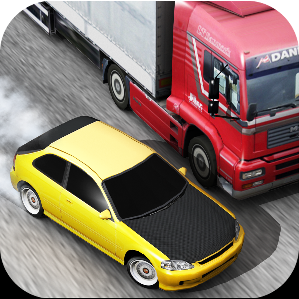 Traffic Racer : 1er jeu de voiture sur AppStore