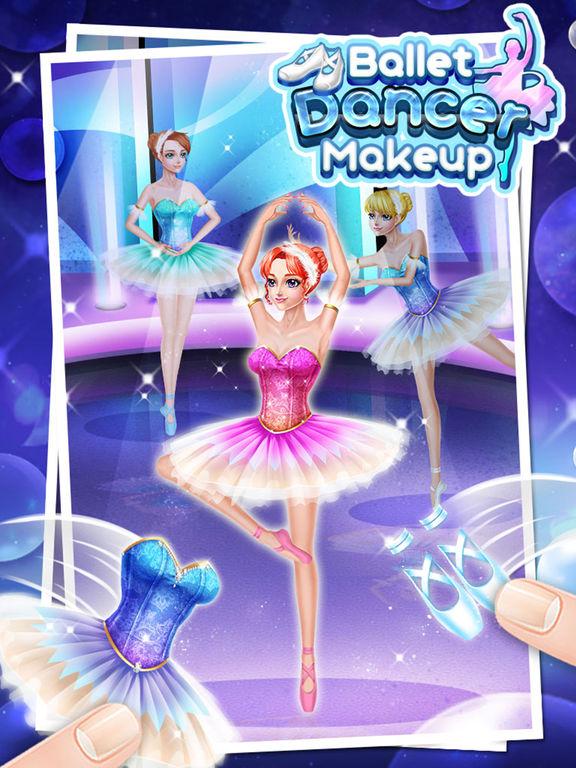Ballet Dancer Makeup - Free Girls Gamesscreeshot 1