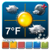Live Dock Weather for Mac icon