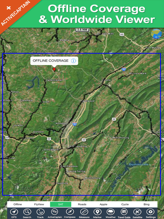 App shopper glendale lake pennsylvania hd gps fishing for Best fishing in pa