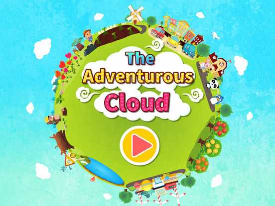 The Adventurous Cloud—BabyBus Screenshots