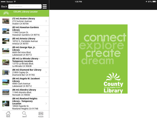 LACountyLib iPad Screenshot 3