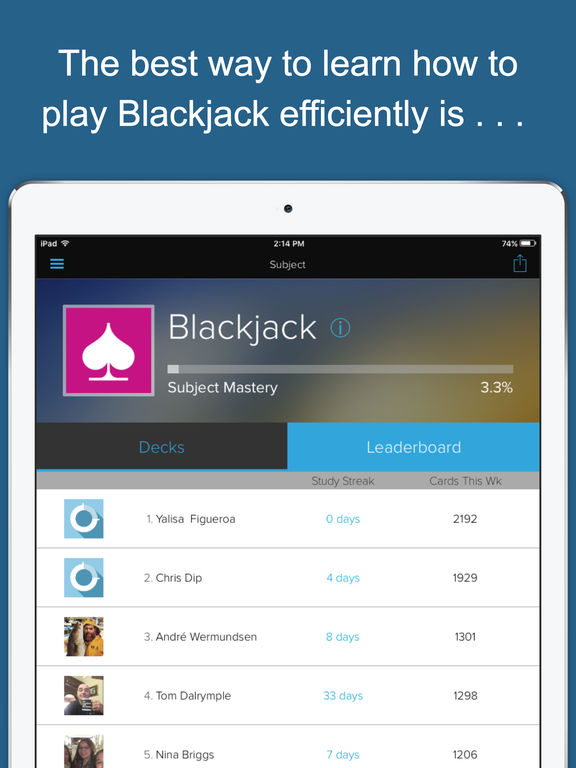 Best blackjack learning app