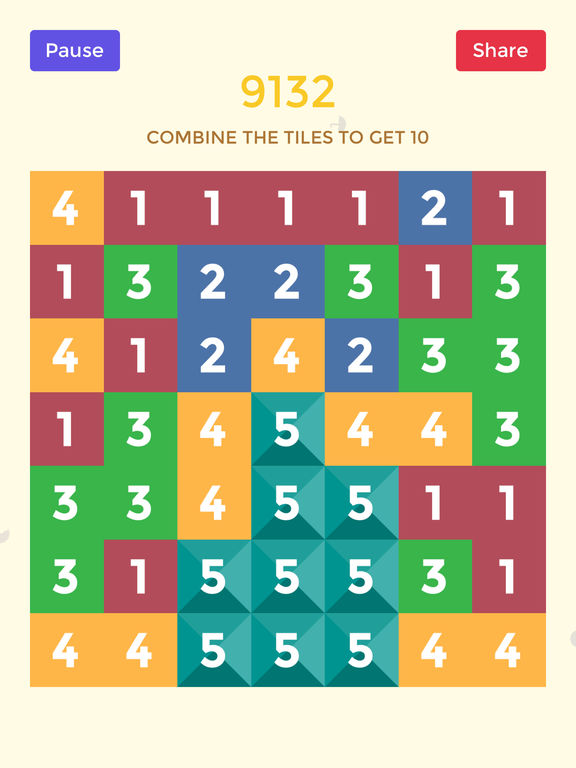 Screenshots of Can you get 10 - 10/10 Number Game The Last Hocus for iPad