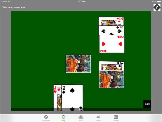iPlayingCards (Lite) iPad Screenshot 2