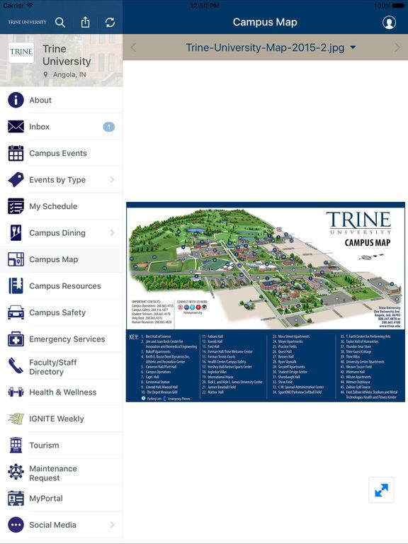 Trine University-ipad-2