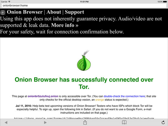 Onion Browser screenshot 6