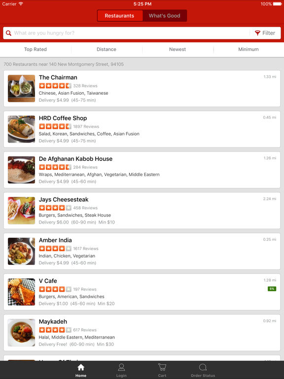 EAT24 Order Food Delivery & Takeout screenshot