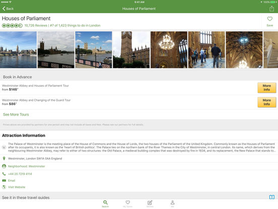 TripAdvisor Hotels Flights Restaurants Screenshots