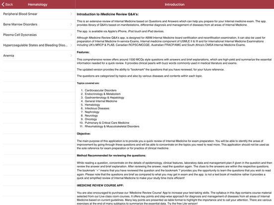 iMedicine Review iPad Screenshot 2