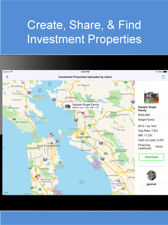 Real Estate Investing Analyst screenshot