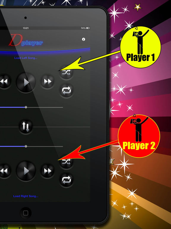 Double Player for Music with Headphones Pro Screenshots