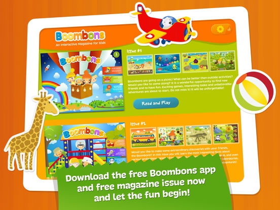 Boombons: play kids magazine - fun interactive educational games for childrenscreeshot 5
