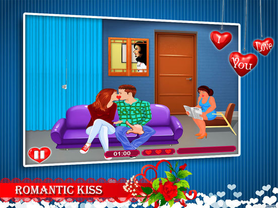 Kiss games for girls and boys