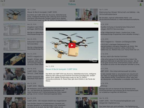 DATEV iPad Screenshot 4