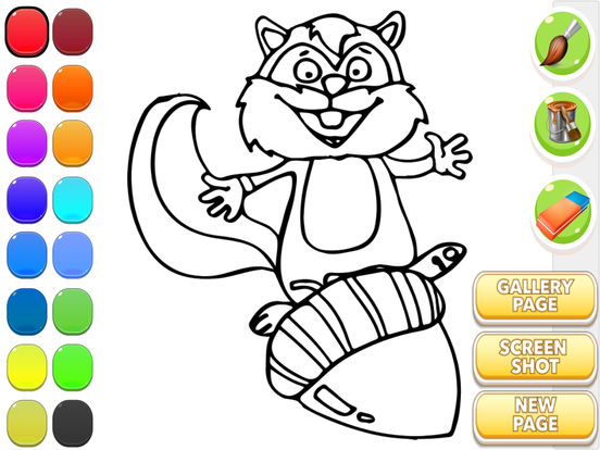 Coloring Book Chance The R Er Download Itunes Squirrel On App Store