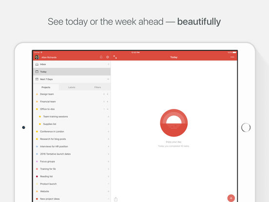 Todoist: To-Do List | Task Manager screenshot