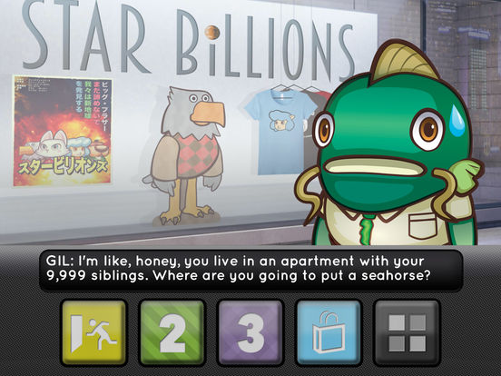 Star Billions: A Sci-Fi Adventure Screenshot