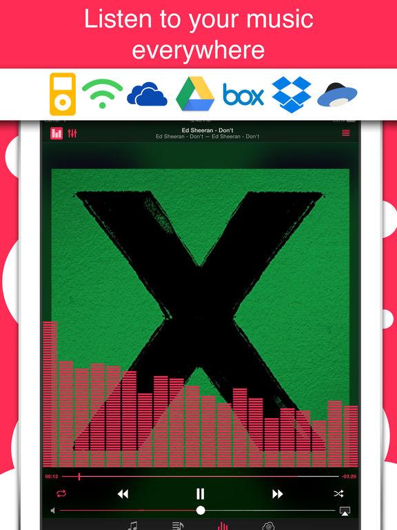 Stream - Cloud Music Player. Скрин 1