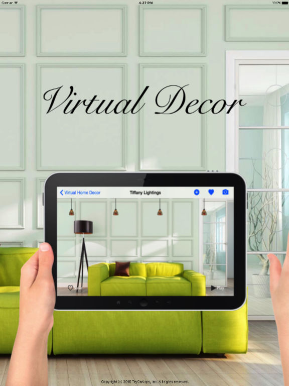 Virtual interior design home decoration tool screenshot for Interior design decoration app