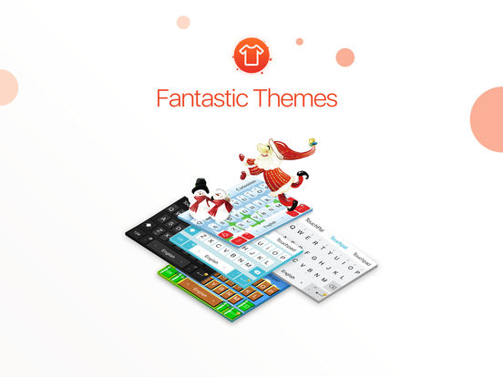 TouchPal Keyboard - Type Fun With Emoji & Themes & Fonts screenshot