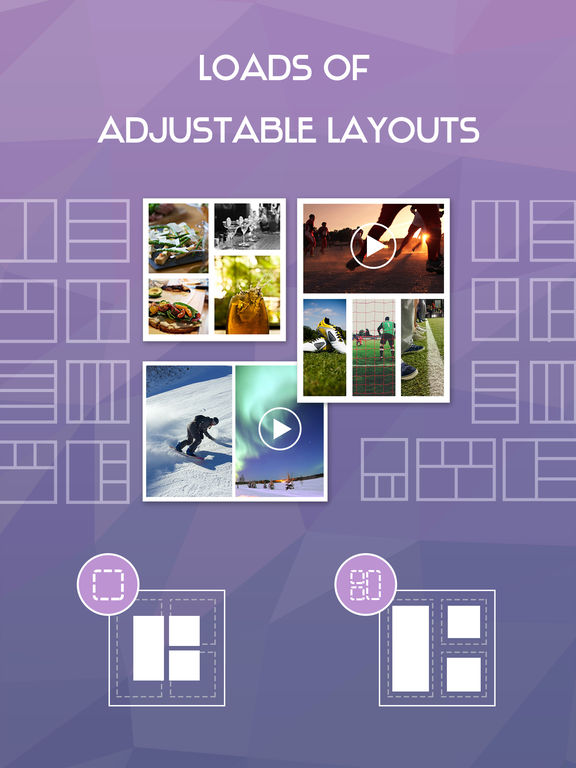 Screenshots of Video Frame Editor & Photo Collage Maker for iPad