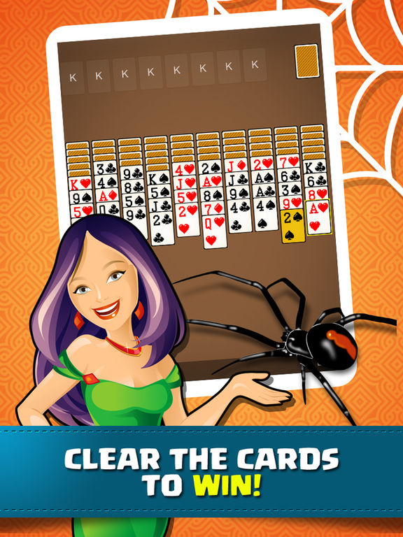 Solitaire Spider Classic Fun Cards Game Collection for Freescreeshot 2