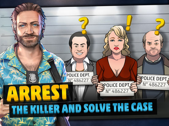 Screenshots of Criminal Case for iPad