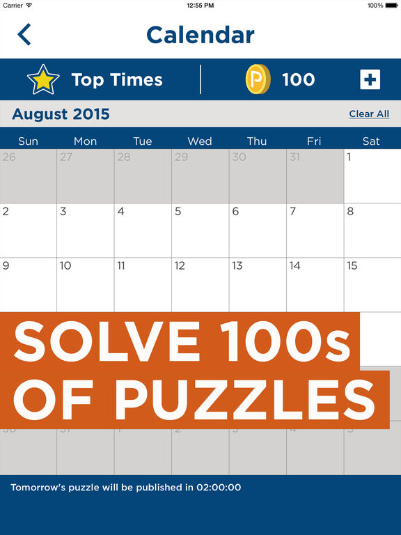 Daily Celebrity Crossword™ screenshot