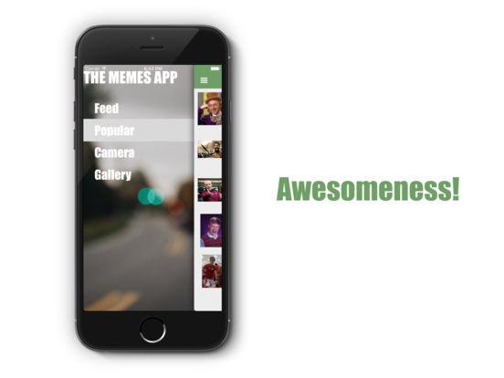 The Memes App Screenshots