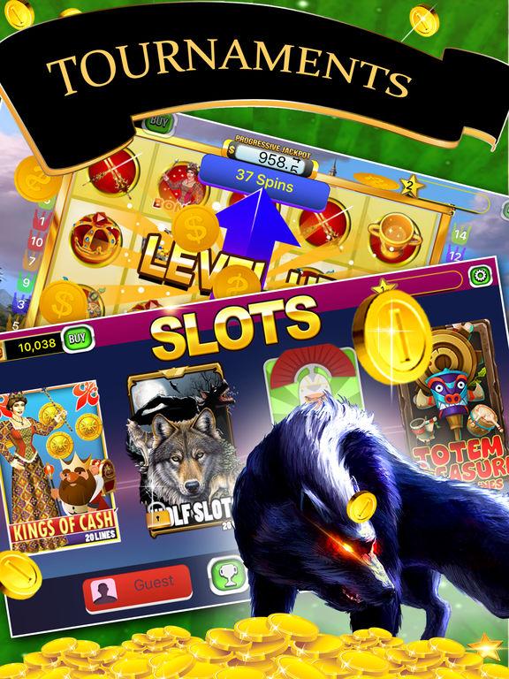 Free Las Vegas Casino Slots Machines Games - Super Win Lucky Jackpot-ipad-1