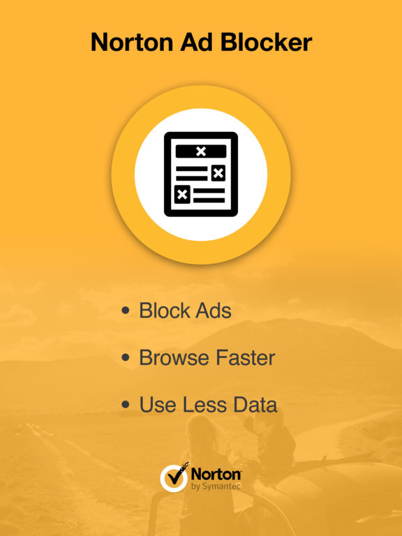 Norton Ad Blocker: Browse faster. Save data. Eliminate ads in Safari. screenshot