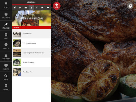 Weber® Grills iPad Screenshot 5