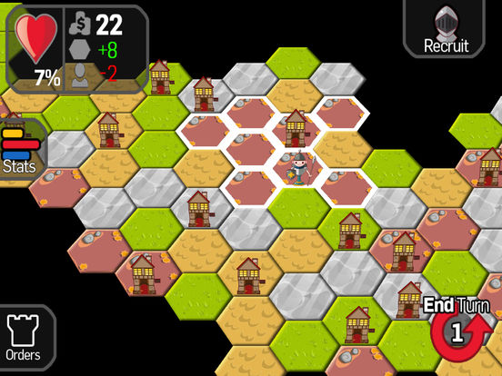 Strategy War - A board game where you command your army like a game of chess and risk it all to conquer the world iPad Screenshot 2