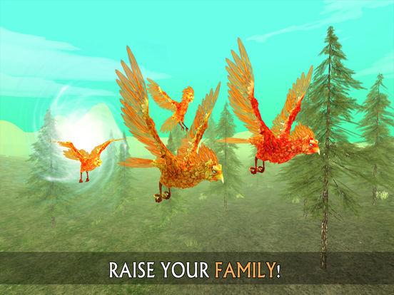 Phoenix Sim 3D - Fantasy Adventuresscreeshot 2