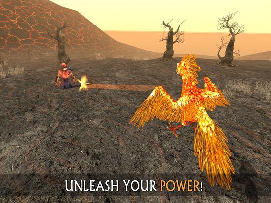 Phoenix Sim 3D - Fantasy Adventuresscreeshot 4