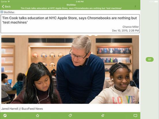 Sylfeed for iPad Screenshot